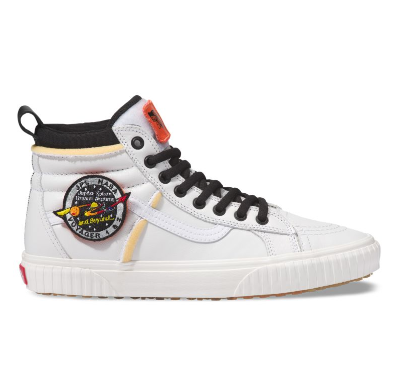 Vans Sk8 Hi MTE NASA Space Voyager True White