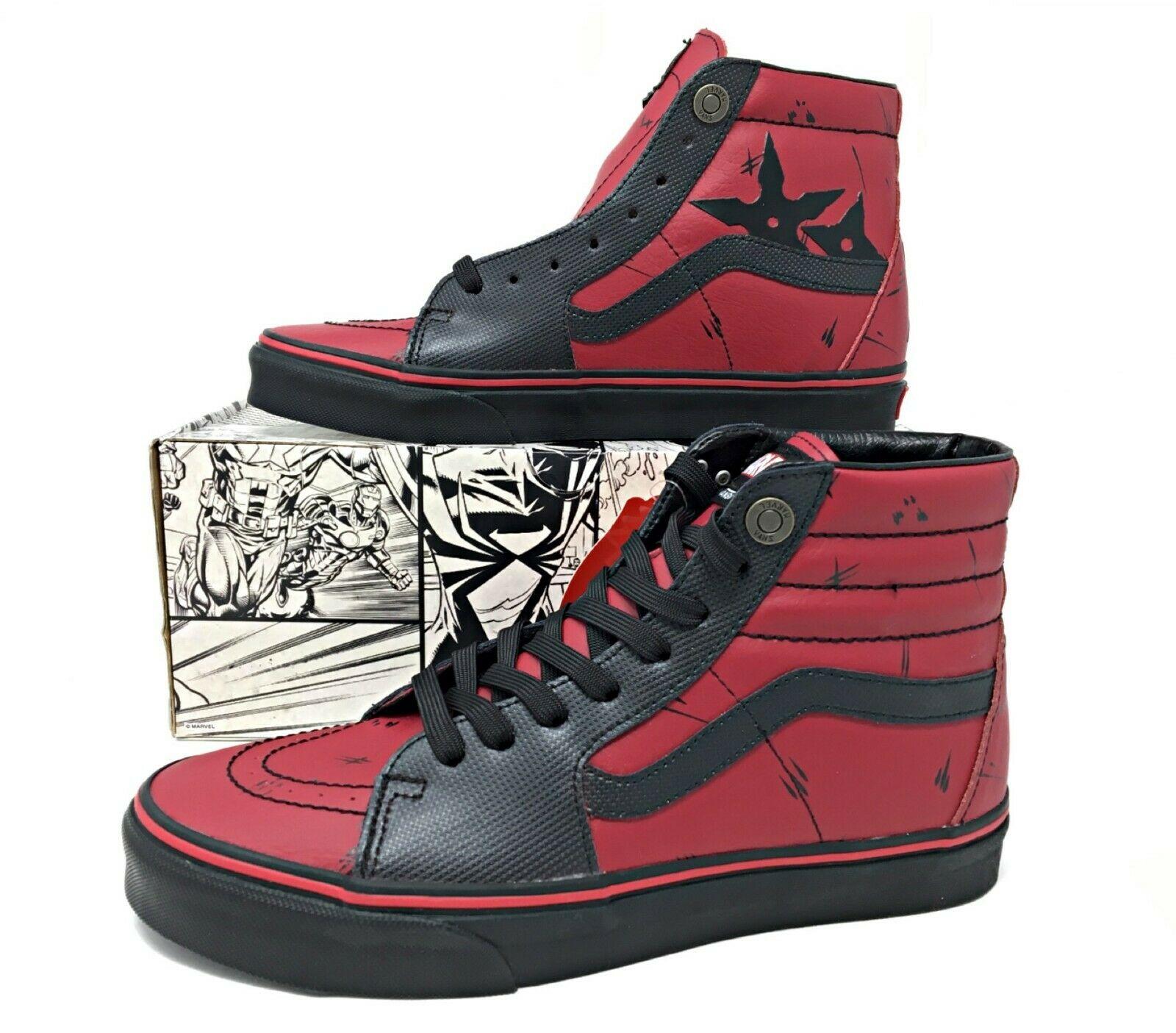 Vans Sk8 Hi Marvel Deadpool
