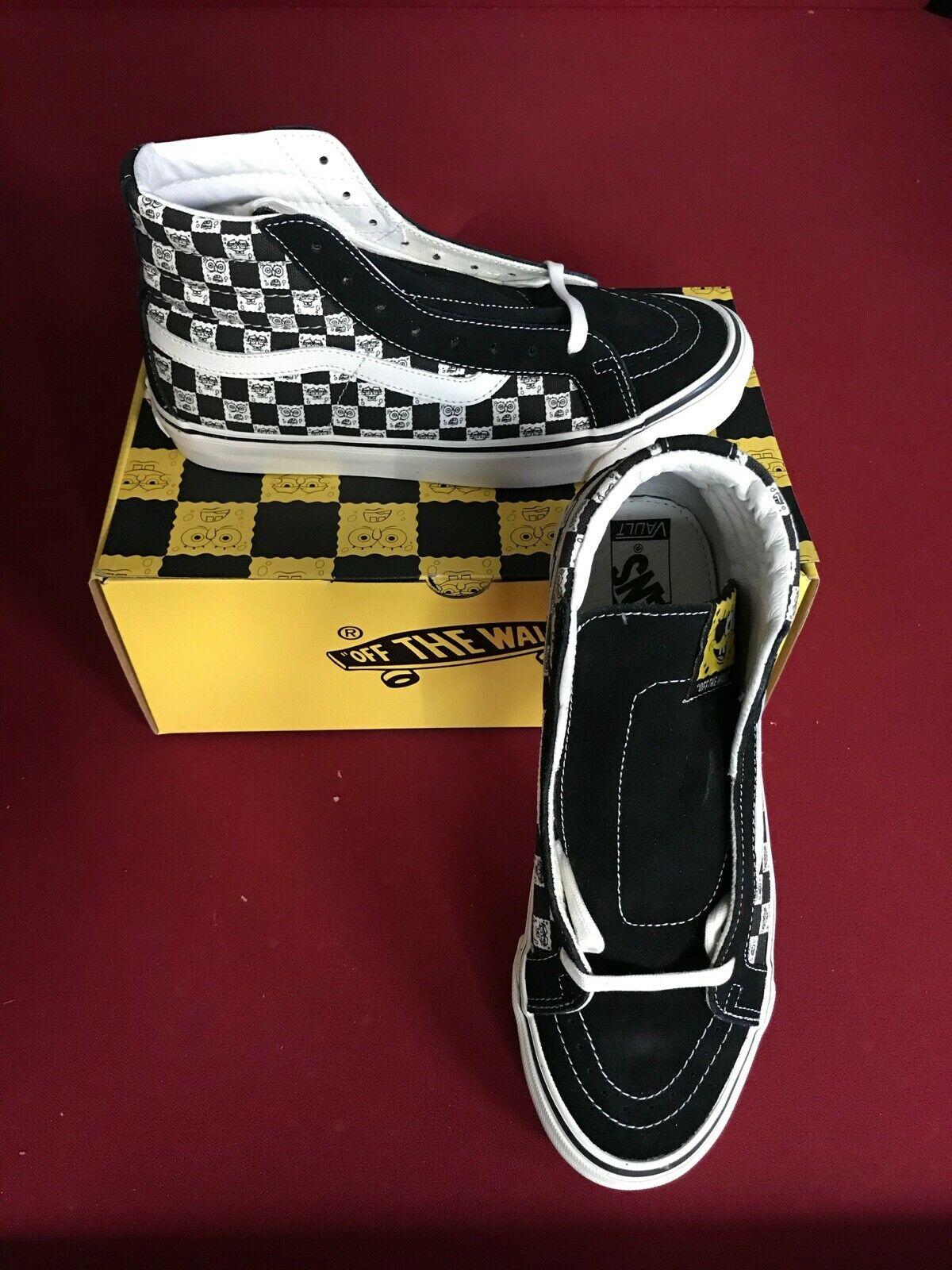 Vans Sk8 Hi Spongebob Checkerboard