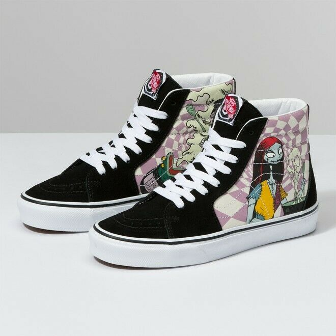 Vans Sk8 Hi The Nightmare Before Christmas Sally
