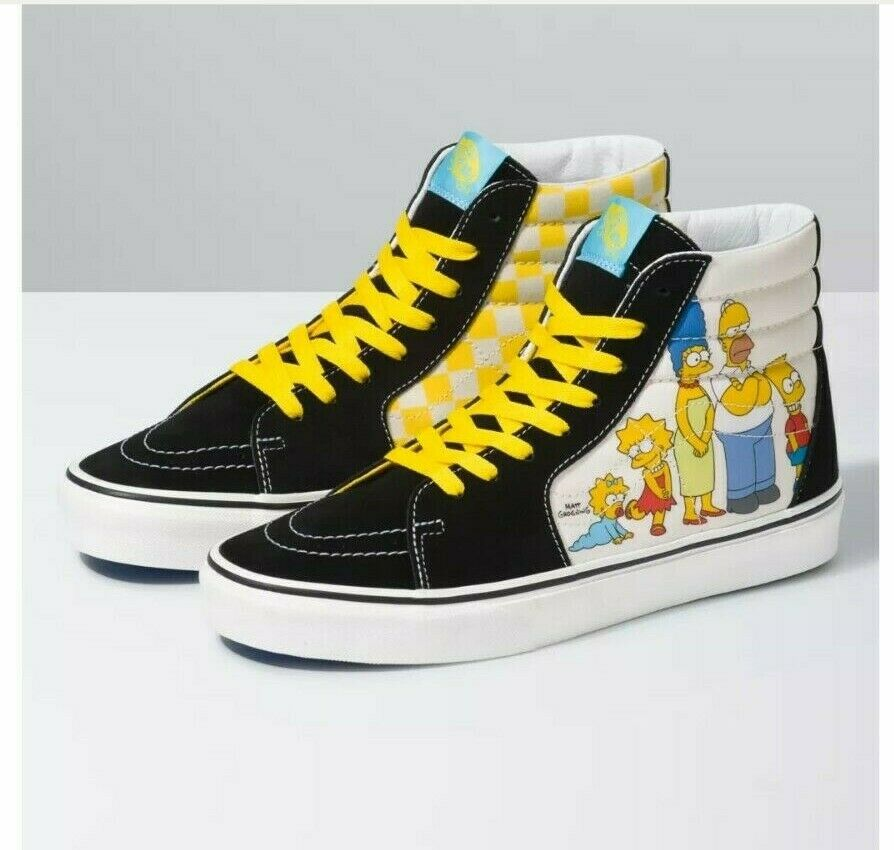 Vans Sk8 Hi The Simpsons Family Portrait