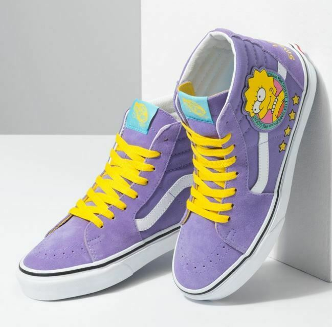 Vans Sk8 Hi The Simpsons Lisa