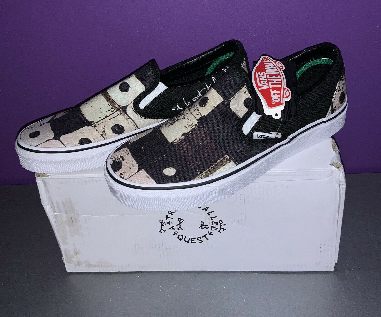 Vans Slip On A Tribe Called Quest