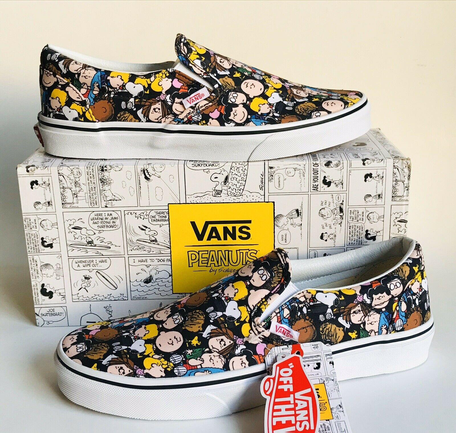 Vans Slip On Peanuts the Gang