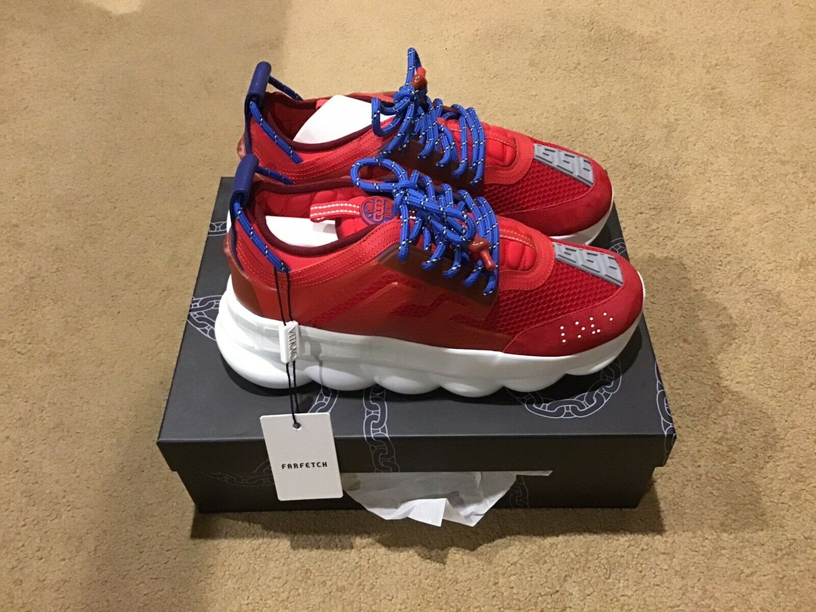 Versace Chain Reaction 2 Chainz Red