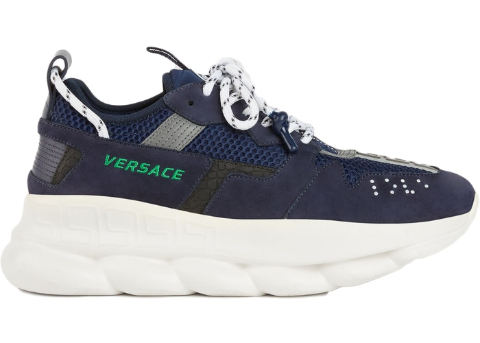 Versace Chain Reaction 2 Navy Blue