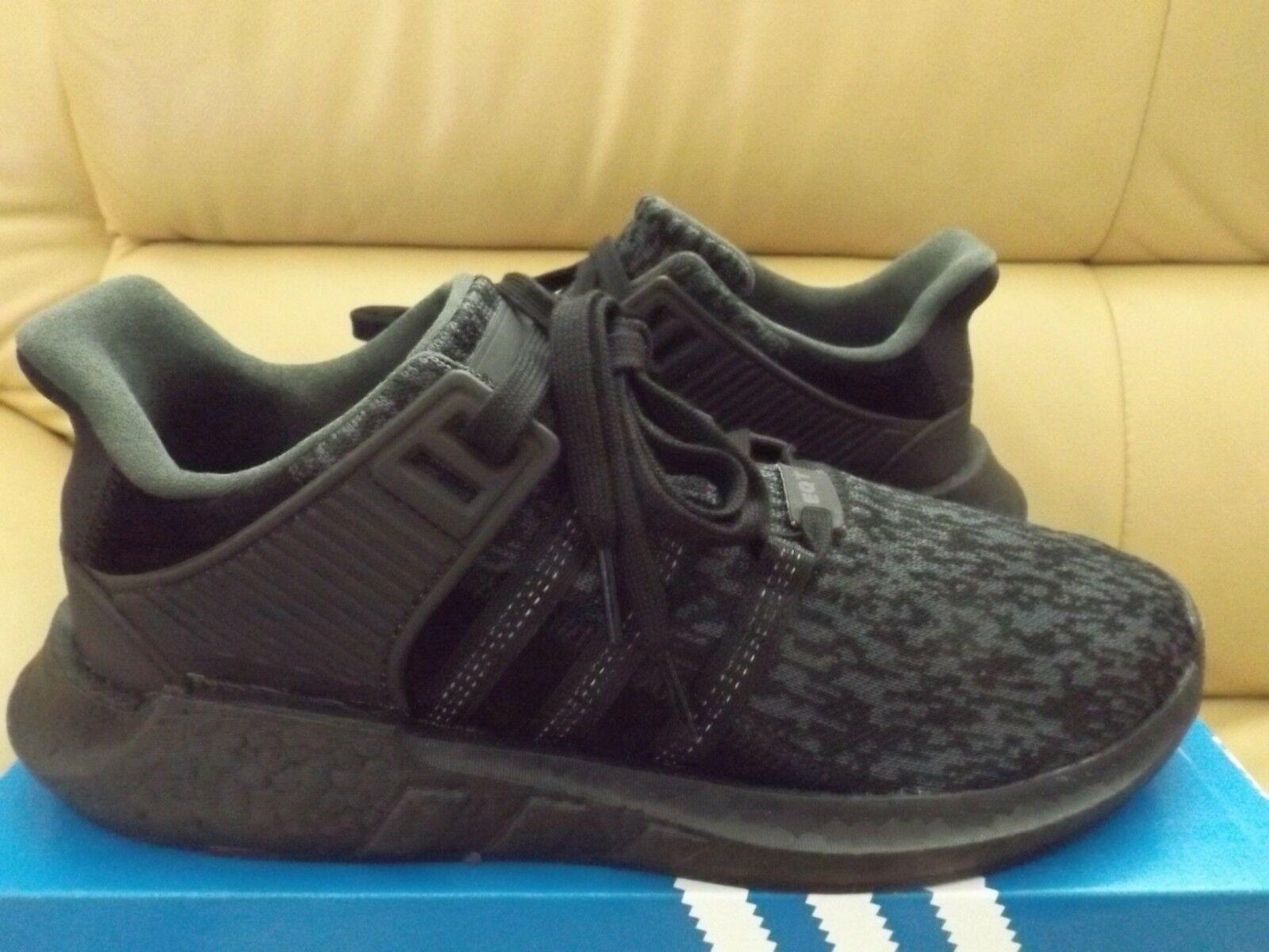 Adidas Eqt Support 93 17 Triple Black