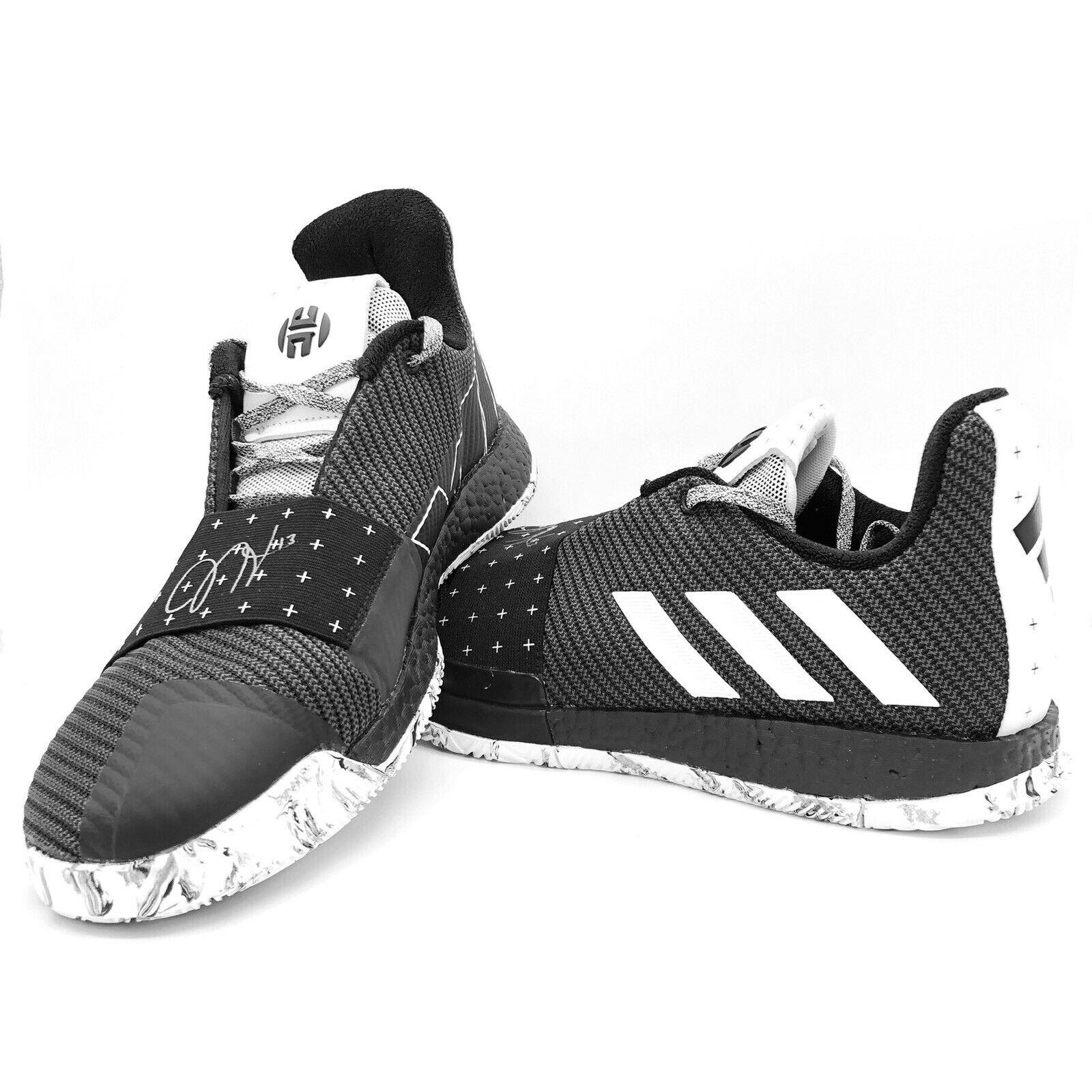 Adidas Harden Vol 3 Black White