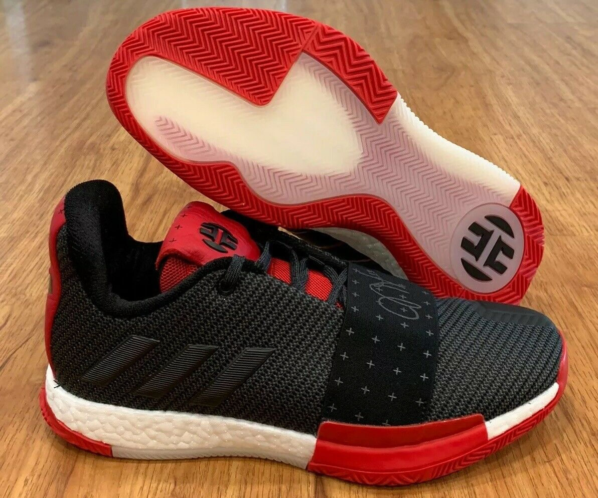 Adidas Harden Vol 3 Core Black Scarlet