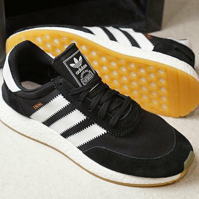 Adidas Iniki Runner Black White Gum