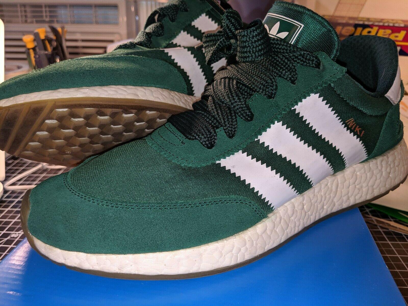 Adidas Iniki Runner Green White Gum