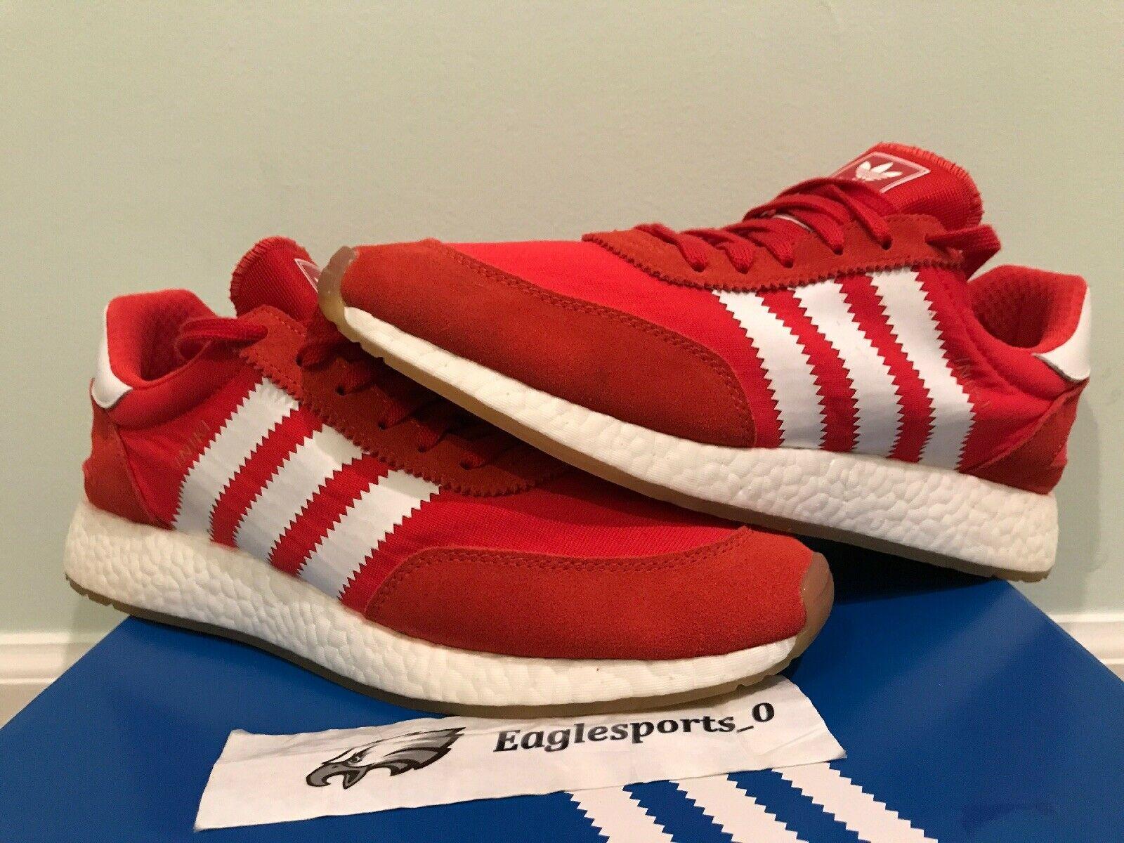 Adidas Iniki Runner Red White Gum