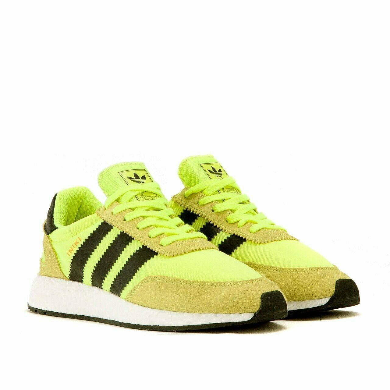 Adidas Iniki Runner Solar Yellow