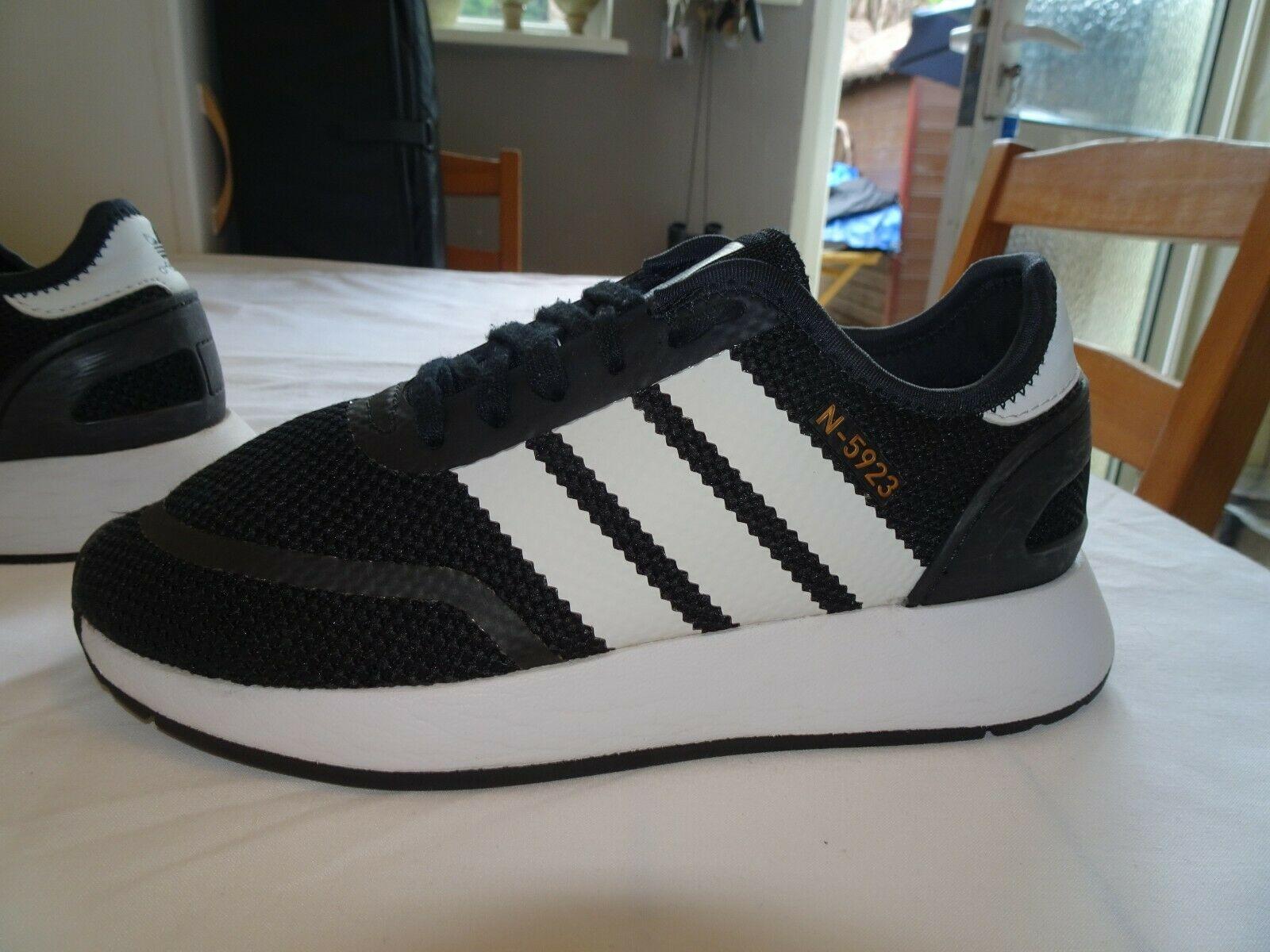 Adidas N 5923 Black White