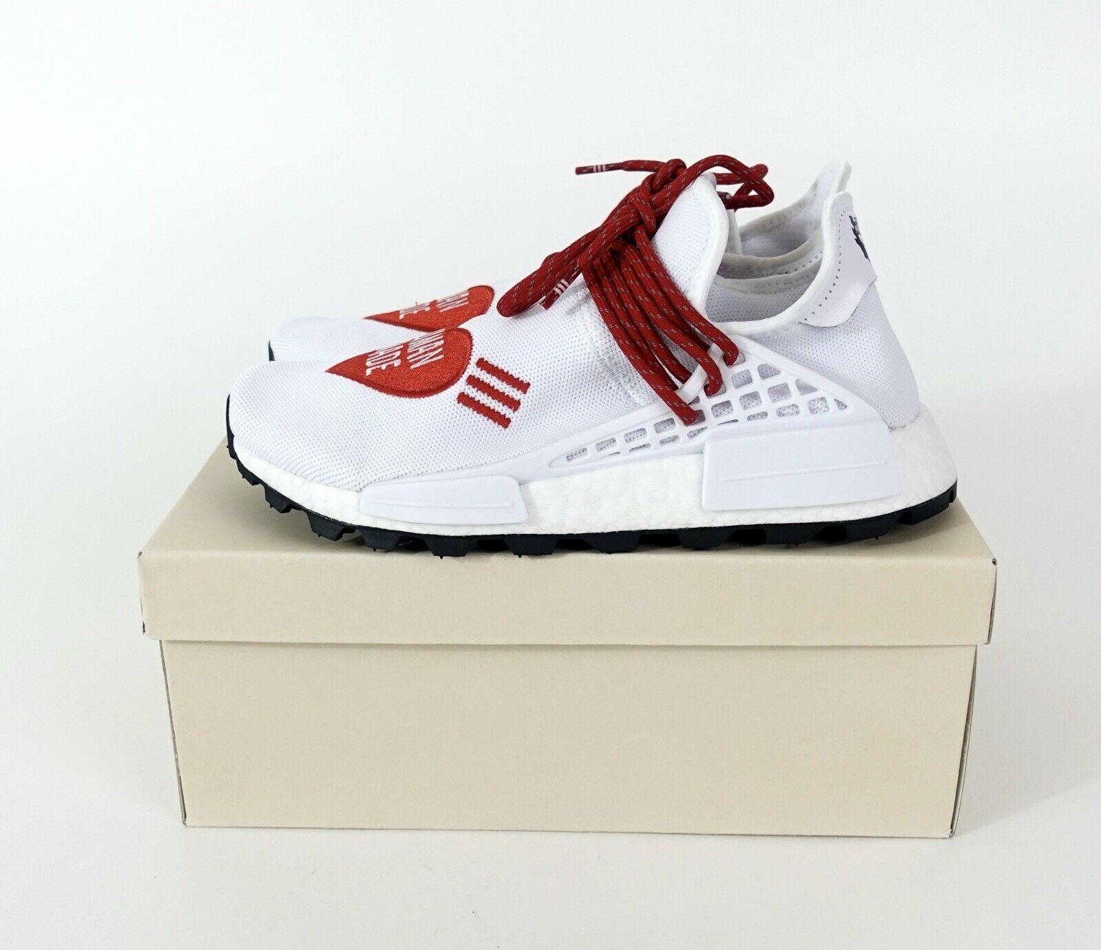 Adidas Nmd Hu Pharrell Human Made White Red