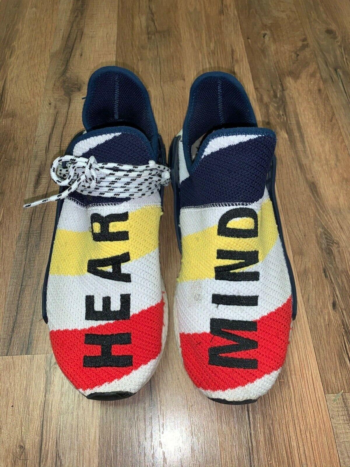 Adidas Nmd Hu Pharrell X Billionaire Boys Club Multi Color