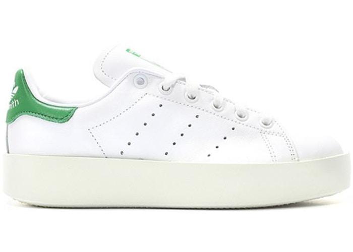 Adidas Stan Smith Bold White Green W