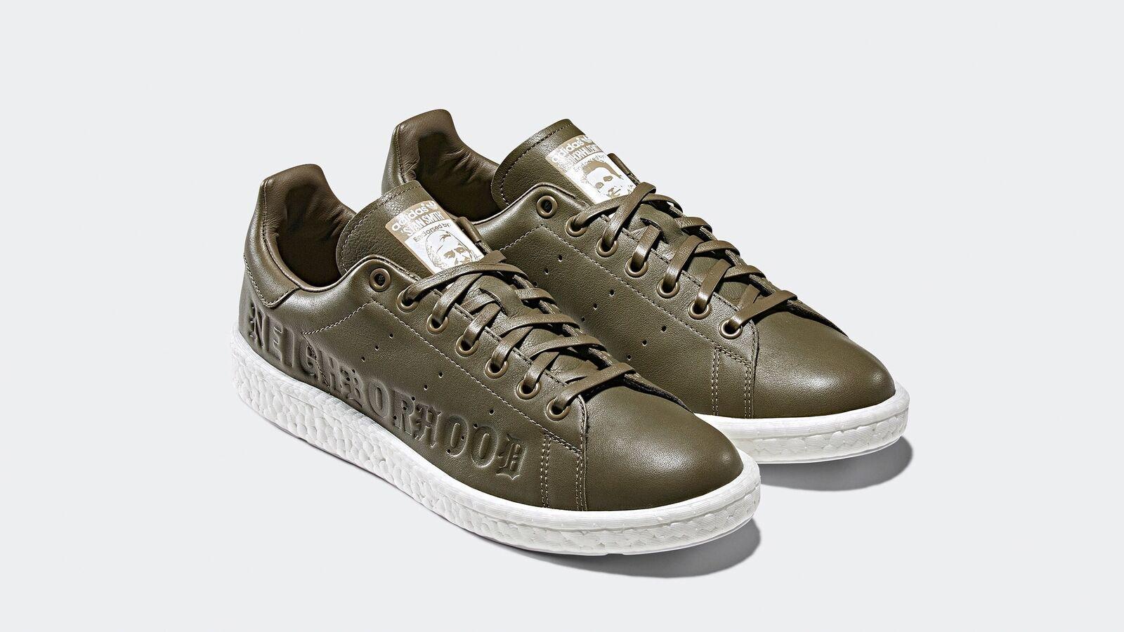 Adidas Stan Smith Boost Neighborhood Olive