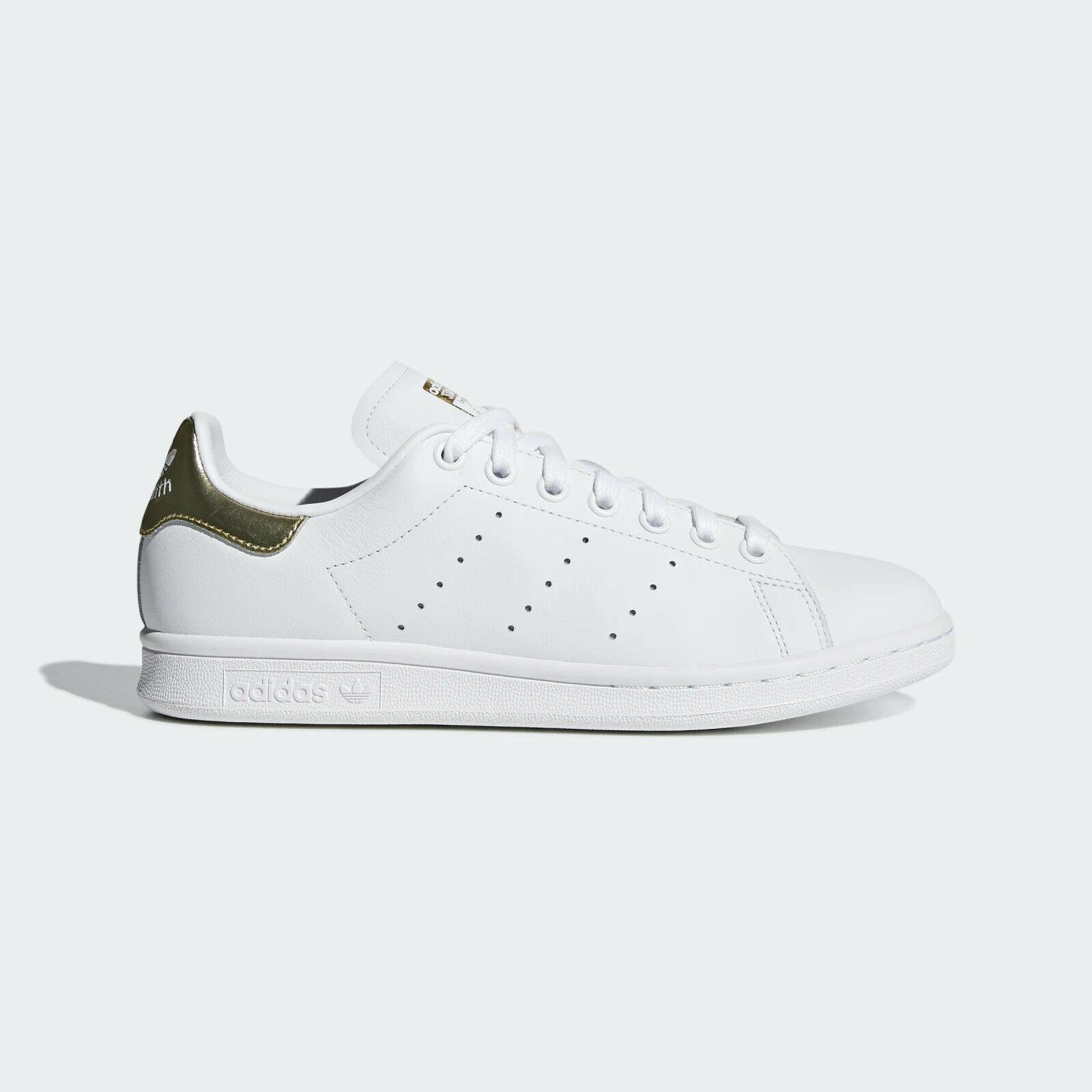 Adidas Stan Smith Cloud White Gold Metallic W