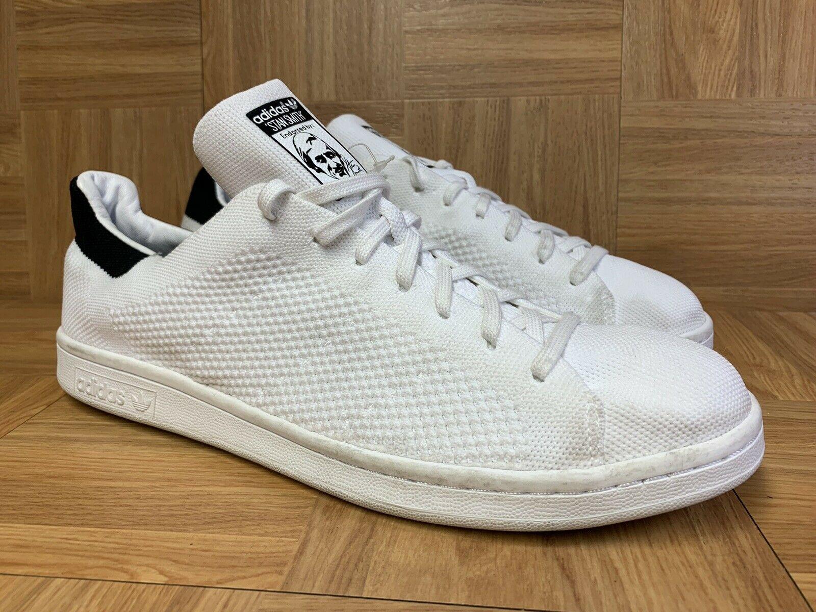 Adidas Stan Smith Primeknit White Blue