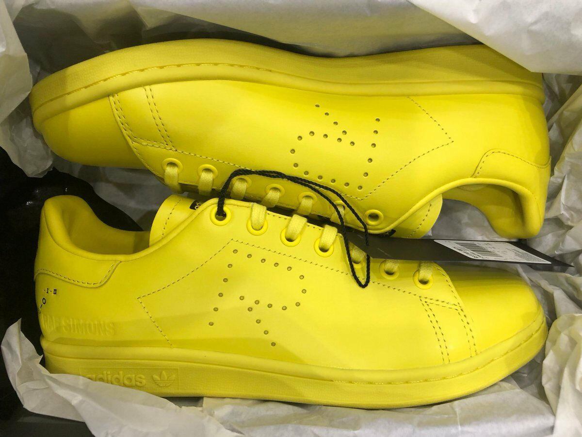 Adidas Stan Smith Raf Simons Bright Yellow