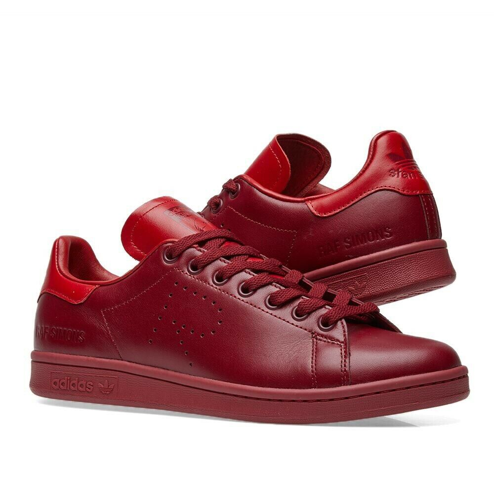 Adidas Stan Smith Raf Simons Burgundy