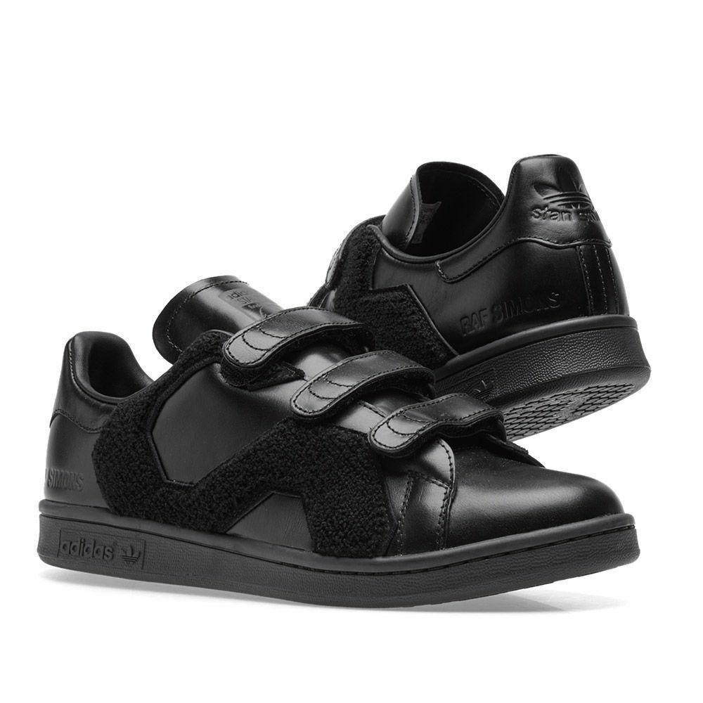 Adidas Stan Smith Raf Simons Comfort Badge Black
