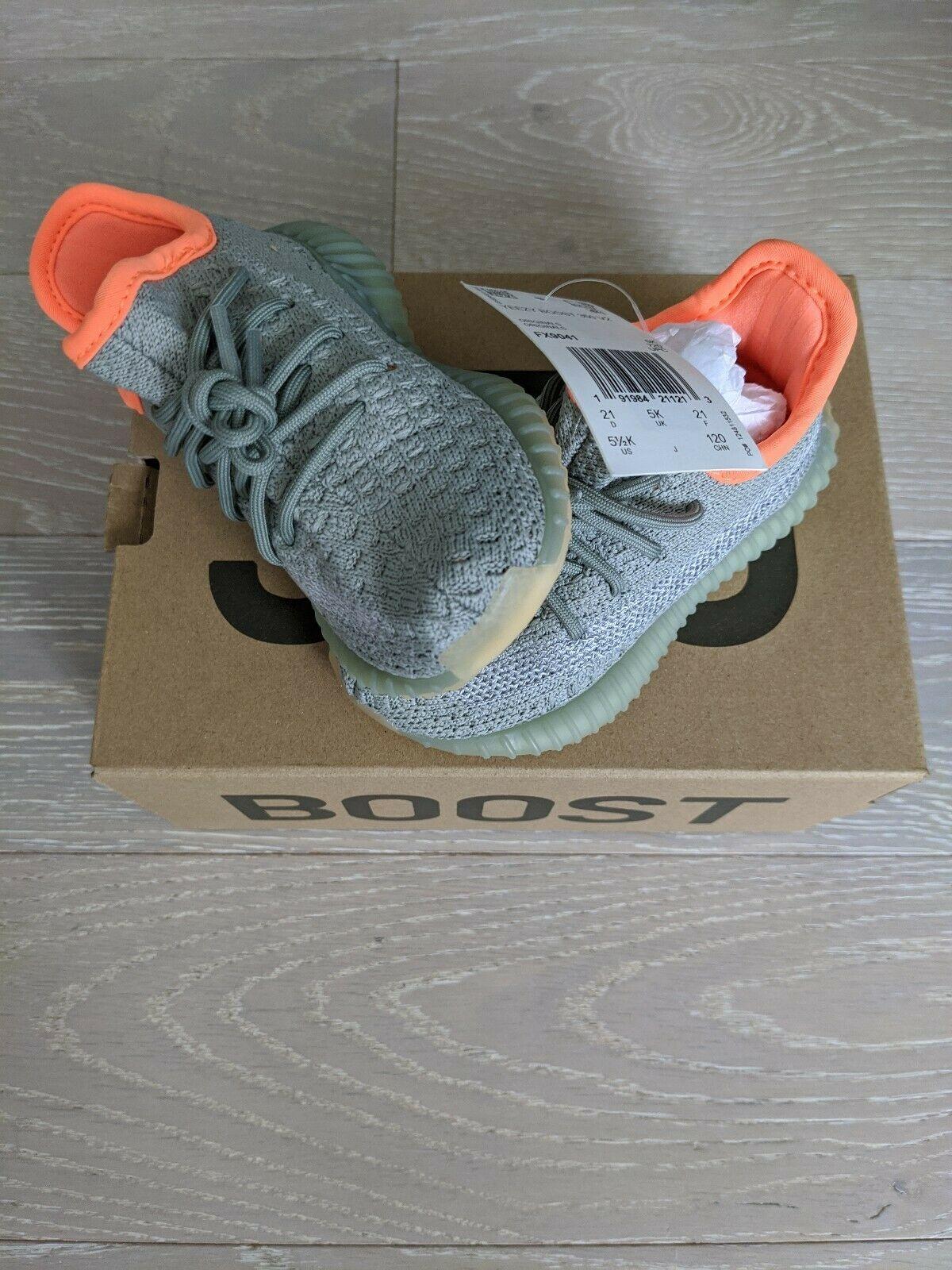 adidas Yeezy Boost 350 V2 Desert Sage Infant
